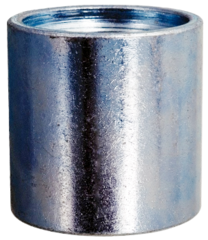 """1-1/4"""" and 2"""" Galvanized Merchant Couplings"""