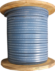 Submersible Pump Cable 12-3 with ground - Flat Jacketed - 500' Coil