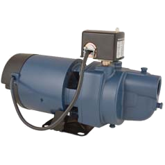F & W EK10S 1HP 115/230V Shallow Well Jet Pump