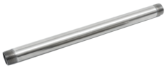 "Galvanized Steel Pipe - Cut Lengths 1-1/4"""