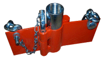 "PL100 1"" Water Well Pump Drop Pipe Elevator"