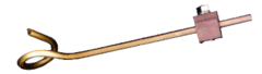 PTFR Float Rod With Pigtail For Use With R900 Series Float Valves