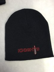 KW Knight's Beanie Stocking cap with embroidered design