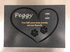 Pet Memorial Plaque