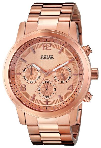 guess men s u16003g1 contemporary rose gold tone chronograph watch guess men s u16003g1 contemporary rose gold tone chronograph watch