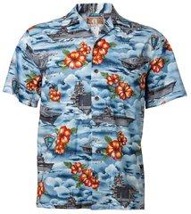 Hawaiian Shirt War Ships