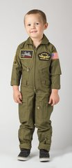 Kids Flight Suit With Patches