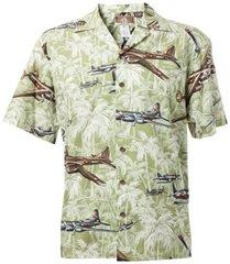 Palm Hawaiian Shirt - Green