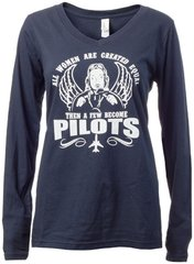 Women Pilots Long Sleeve Shirt