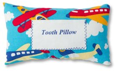Tooth Pillow with Airplanes