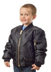 Children's MA-1 Jacket Black or Green