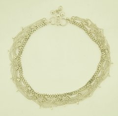 Beautiful Handmade Indian Dangle Anklets 925 Sterling Silver