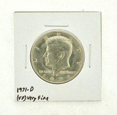 1971-D Kennedy Half Dollar (VF) Very Fine N2-3450-3