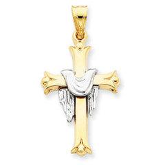 Cross with Robe Pendant (JC-018)