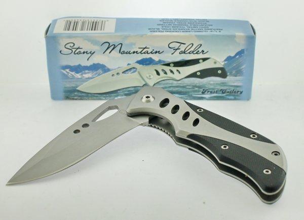 Frost Cutlery Stony Mountain Folder 16-163B Knife