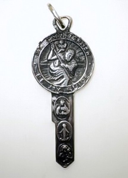 St. Christopher Key Pendant (JC-967)
