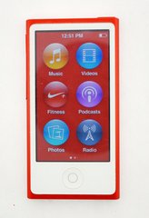Apple iPod Nano 7th Generation Red 16 GB (No Charger)