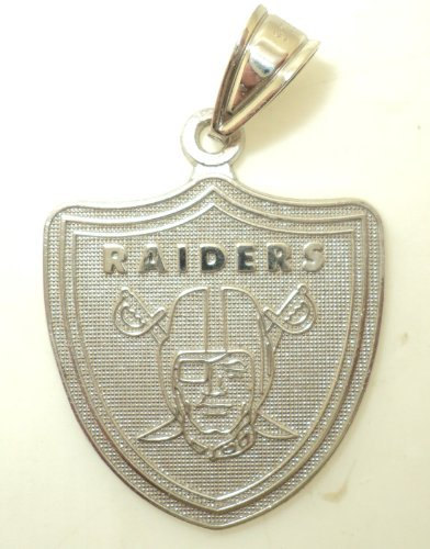 Large NFL Raiders Charm (JC-301)