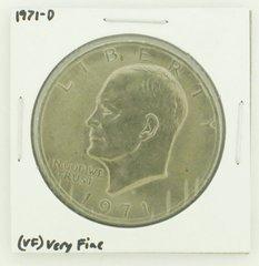 1971-D Eisenhower Dollar RATING: (VF) Very Fine N2-2511-11