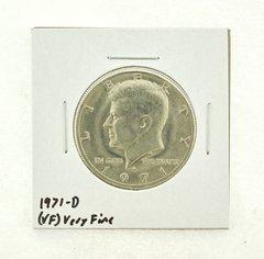 1971-D Kennedy Half Dollar (VF) Very Fine N2-3450-9