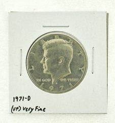 1971-D Kennedy Half Dollar (VF) Very Fine N2-3450-2