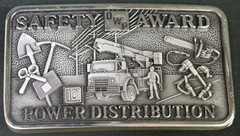Safety Award Power Distribution Belt Buckle