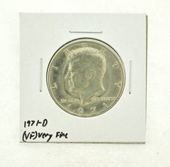 1971-D Kennedy Half Dollar (VF) Very Fine N2-3450-5