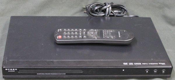 DYNEX DX-UPDVD2 CD/MP3/WMA/JPEG/DVD PLAYER