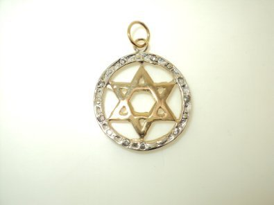 Star of David Pendant (JC-1052)