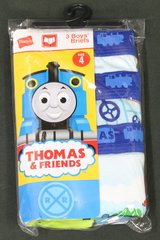 Hanes - Thomas and Friends - Boys Briefs - Size 4