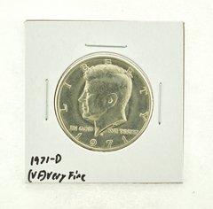 1971-D Kennedy Half Dollar (VF) Very Fine N2-3450-4
