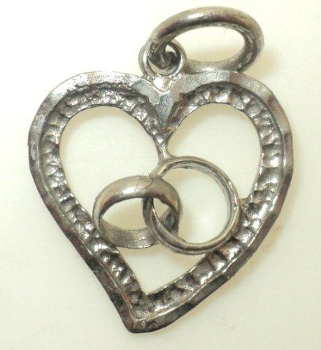 Heart with Swirl Charm (JC-711)