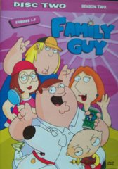 Family Guy Season Two - DVD Disc Two Episodes 1-7