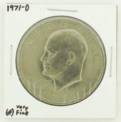 1971-D Eisenhower Dollar RATING: (VF) Very Fine N2-2511-3