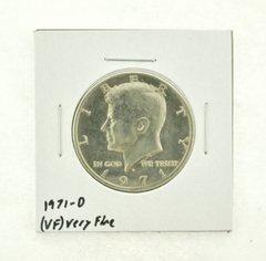 1971-D Kennedy Half Dollar (VF) Very Fine N2-3450-7