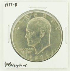 1971-D Eisenhower Dollar RATING: (VF) Very Fine N2-2511-5