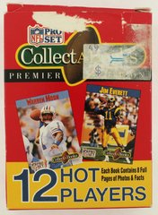 1990 Football Collect-A-Books Series 3 Complete ( 12 ) Card Set