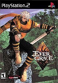 EVER GRACE (Sony PlayStation 2, 2000) (DISC ONLY)