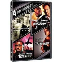 4 Film Favorites: Extreme Action (DVD, 2007, 2-Disc Set)