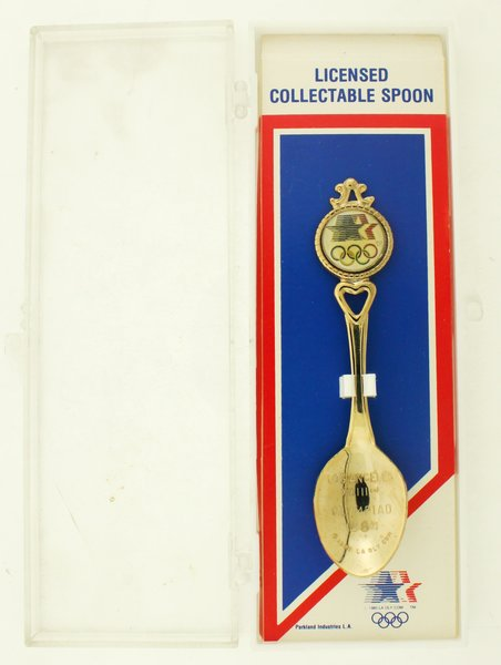 Vintage Collector Souvenir Spoon Los Angeles 23rd Olympics 1984