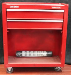 Craftsman Tool Rolling Chest Box w/ 2 Drawers