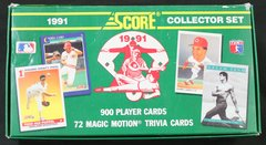 SCORE 1991 COLLECTOR SET TRADING CARDS
