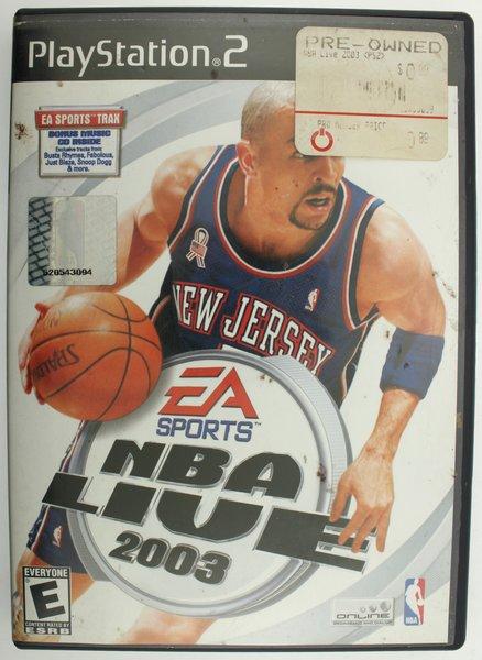 NBA Live 2003 (Sony PlayStation 2, 2002)