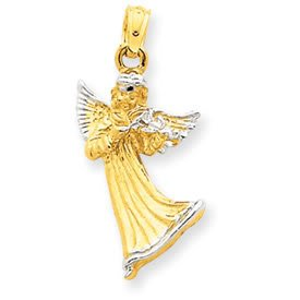 Angel with Violin Pendant (JC-664)