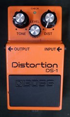 Boss DS-1 Guitar Distortion Effects Pedal
