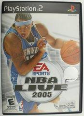NBA Live 2005 (Sony PlayStation 2, 2004)