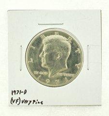 1971-D Kennedy Half Dollar (VF) Very Fine N2-3450-1