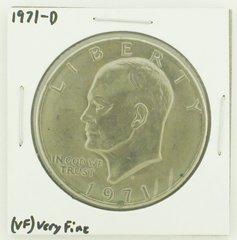 1971-D Eisenhower Dollar RATING: (VF) Very Fine N2-2511-10