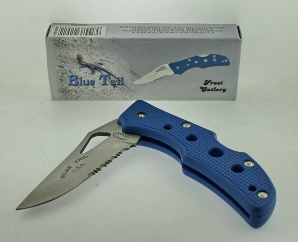 Frost Cutlery Blue Tail 16-099BL Knife