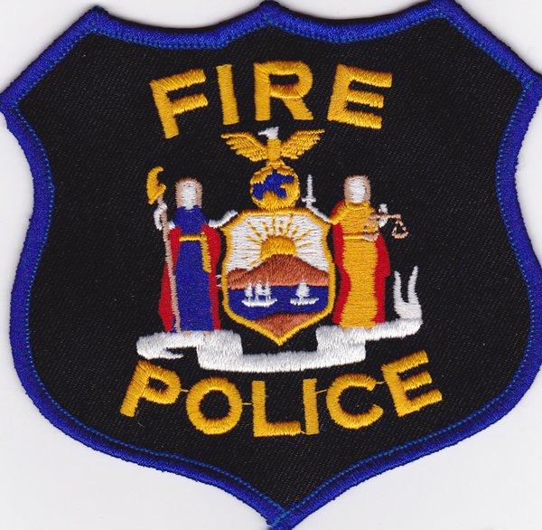 NYS FIRE POLICE PATCH | Uniforms Etc LLC